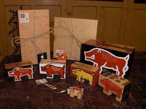 山豬小木器